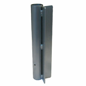 Straight Pole Mount for Advertising Pole Mounting Bracket fof Flag Pole
