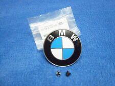 Original BMW e46 3er Emblem vorne NEU Motorhaube Bonnet Hood Logo 318i 330i M3