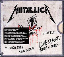 METALLICA - LIVE SH*T BINGE AN PURGE 3CD/2DVD SET R1 FULL SHOWS '89 & '92 TOURS