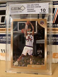 1998-99 Topps - Vince Carter - Rookie Card RC - Gem Mint 10