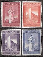 Vatican City #Mi288-Mi291 MNH CV€5.00 1958 Brussels Expo Piux XII [239-242]