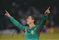Chicharito - Javier Hernandez SIGNED Man United 12x8 Photo AFTAL COA MEXICO RARE