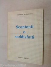 SCONTENTI E SODDISFATTI Antonino Mastropaolo Giuseppe Damiani Herbita 1986 libro