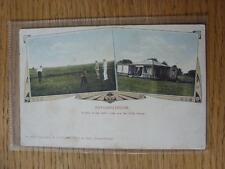 1900's-50's GOLF foto cartolina: in tutto il mondo-potchefstroom, una vista del gol
