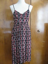 Free People women's black comb detailed lined assymetric NWT dress Medium