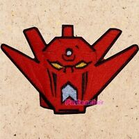 Getter Robo G Head Patch Cartoon Robot Go Nagai Mazinger Shin Dragon Embroidered