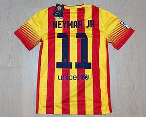 2013-14 Barcelona Away Shirt Neymar Jr #11 *w/Tags* size S