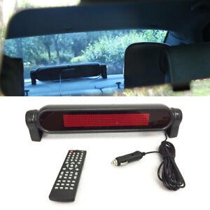 12V Auto Car Dash Scrolling LED Panel Display Editable Advertising Window Sign×1