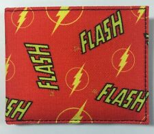 Bi-Fold Wallet ID Holder Superhero Flash DC Comics The Flash New