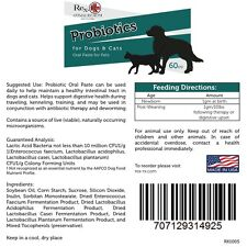 Rex-RX  Probiotics Oral Paste for Dogs & Cats ( 60 cc) Made in USA
