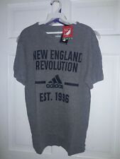 New England Revolution soccer Revs Adidas T-shirt Major League Soccer MLS - - M
