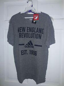 New England Revolution soccer Revs Adidas T-shirt Major League Soccer MLS - - M