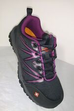 Merrell Women's Black Fullbench Composite Toe Rugged Safety Work Sneakers 8M NEW