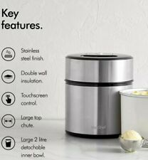 NEW - VonShef 2L Ice Cream Maker