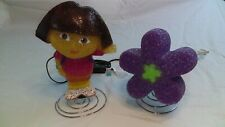 Dora The Explorer Light Eva Lamp & Purple Eva Flower Lamp