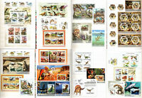 DINOSAURS Prehistoric animals - Collection of stamps in Album (MNH) #CL27