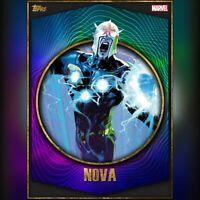 Topps MARVEL Collect DIGITAL Card | Maximum Power | Nova | CC 667 | Super Rare