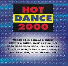 Hot Dance 2000:LOU BEGA,BACKSTREET BOYS,VENGABOYS,SASHA,TOY BOX,MADONNA,AGUILERA