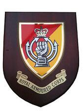 Royal Armoured Corps RAC Military Shield Wall Plaque