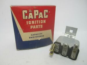 41-48 Ford Mercury 6-Volt Horn Relay CAPAC FD20-402 HR106