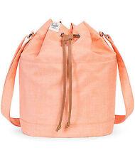 HERSCHEL SUPPLY CO CARLOW NECTARINE CROSSHATCH BAG MSRP $55- BRAND NEW w/TAG!