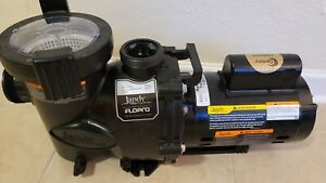 """Jandy FloPro 1.0 HP, FHPM1.0, 2"""" Unions Included, """"Ready To Go Out The Box"""""""