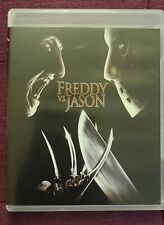 Freddy vs Jason Blu Ray Scream Factory with Reversible Insert Cover
