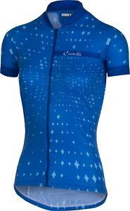 Castelli Stella Women's Short Sleeve Cycling Jersey Blue Size Small