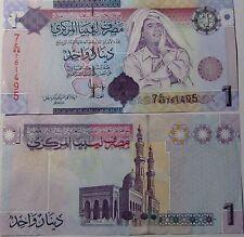"""BILLETE """"  LIBIA    """" 1   DINAR   AÑO  2009   UNC    PLANCHA"""