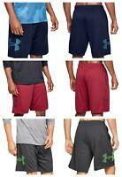 Under Armour Mens UA Tech Graphic Shorts Lightweight Training Sports Gym Shorts
