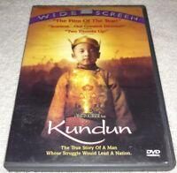 Kundun (DVD, 1998, Widescreen): Tenzin Thuthob Tsarong RARE oop
