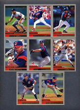 2000 Topps Traded Baseball Cleveland Indians TEAM SET