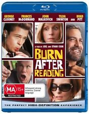 BURN AFTER READING - The Coen Brothers - BLU-RAY