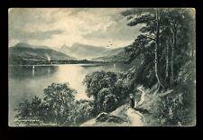 Cumbria Windermere Lake artist F W Hayes? Tuck #1065 PPC used 1905