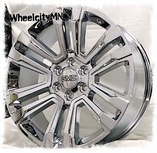 24 Inch Chrome 2018 2017 Gmc Sierra 1500 Denali Yukon Oe Replica Wheels 6x55