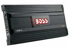 Boss - D550.4 - MOSFET Bridgeable 4-Channel Power Amplifier