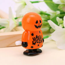 Plastic Halloween Walking Pumpkin Shape Clockwork Toy Kids Funny Daily Gift