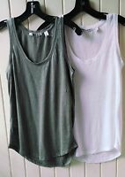 New  Country Road Solid Color Linen Tank More Colors Size XXS,XS,S,M,L,XL