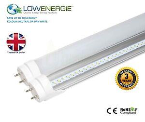 LED Tube Light T8/T12 Fluorescent Replacement Ceiling Energy Saving Multi Buy