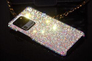 Bling Diamond Case f Samsung Galaxy S21 Plus Ultra S20 FE With SWAROVSKI ELEMENT