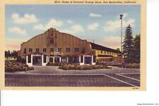 SAN BERNADINO CA 1943  Home of the National Orange Show VINTAGE CALIFORNIA GEM++