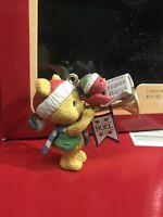 Carlton Cards Heirloom Collection Making Music Bear Bird Trumpet NOS