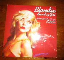 "BLONDIE RARE 12"" SUNDAY GIRL 70'S DEBBIE HARRY"