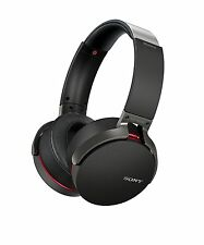 Sony MDR-XB950B1/B Bluetooth Wireless Extra Bass Headphones, Black