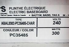 Stelpro Bella 300-Watt 240-Volt High End Baseboard heater