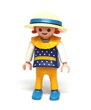 Playmobil Figure Victorian Dollhouse Girl Child Straw Hat Ribbon Special 4584