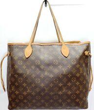 Louis Vuitton Designer Neverfull GM Large Monogram LV Tote Bag