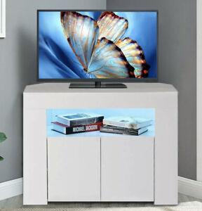 Tv Eckschrank Weiß