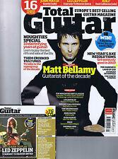 MUSE MATT BELLAMY / LED ZEPPELIN / DARKNESSTotal Guitar + CDNo.197 Jan2010
