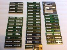 LOT of 45 Mixed Assorted 1GB 2GB 4GB  8GB Desktop Memory Sticks RAM 117 TOTAL